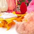 Stock Photo: Thai buddism wedding gifts