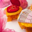 Thai wedding money — Stock fotografie
