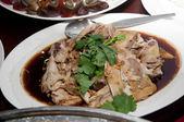 Steamed chicken — Stock Photo