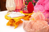 Thai buddism wedding gifts — Stock Photo