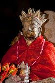 Statue de moine chinois au temple — Photo