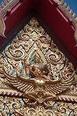Tajskiej sztuki w świątyni — Zdjęcie stockowe