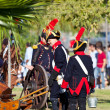 Historical military reenacting — Stockfoto #7273810