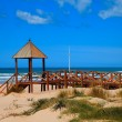 Cortadura's Beach - Cadiz — Stock Photo