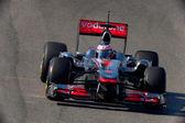 Team McLaren F1, Jenson Button, 2011 — Stock Photo