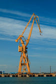 Port derrick — Stock Photo