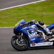 Marc Moser pilot of MOTO2 in the CEV — Stock Photo