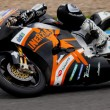 Ivan Silva pilot of MOTO2 in the CEV — Stock Photo