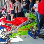 ������, ������: Juanfran Guevara pilot of 125cc of the CEV Championship