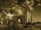 Ruins on the Salterns — Foto Stock