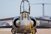 Military aircraft — Stock Photo