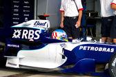Team Williams F1, Alex Wurz, 2006 — Stok fotoğraf