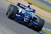 Team Williams F1, Narain Karthikeyan, 2006 — 图库照片