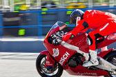 Roman Ramos pilot of Moto2 of the CEV Championship — Stock Photo