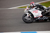 Nicolas Felipe pilot of MOTO2 in the CEV — ストック写真