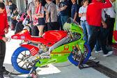 Juanfran ・ ゲバラ cev スペイン選手権選手権 125 cc クラスのパイロット — ストック写真
