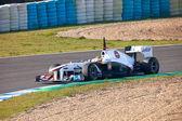Team Sauber F1, Sergio Perez, 2011 — Foto de Stock