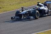 Team Williams F1, Pastor Maldonado, 2011 — Foto de Stock
