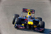Team Red Bull Racing F1, Mark Webber, 2011 — Foto de Stock