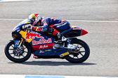 Piloto de jonas folger de motociclismo de 125cc no mundo champio — Foto Stock