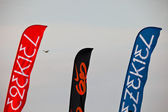 Flags of the 2nd Championship Impoxibol, 2011 — Stock Photo