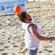 Match of the 19th league of beach handball, Cadiz — Lizenzfreies Foto