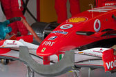 Team Ferrari F1, front wing, 2006 — Stock Photo