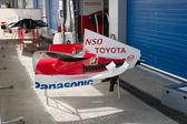 Team Toyota F1, Engine cover — Stock Photo