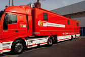 Truck of Scuderia Ferrari — Stock Photo