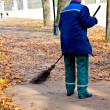 Stock Photo: Sweeping
