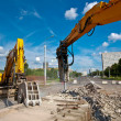 Demolishing Site - Stock Photo