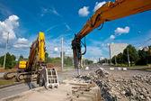 Demolishing Site — Stock Photo