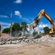 Stock Photo: Site Demolition