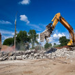 Royalty-Free Stock Photo: Site Demolition