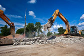 Site Demolition — Stockfoto