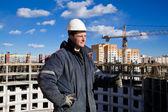 Teamwork in Construction — Stock Photo