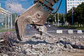 Site Demolition — Stock Photo