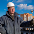 Construction Foreman Worker - Stock Photo