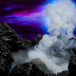 Volcanic eruption - Stock Photo