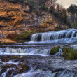 Colorful scenic waterfall in HDR — Stock Photo #6966741