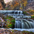Colorful scenic waterfall in HDR — Stock Photo #6995476