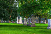 HDR of a Cemetery — Stock Photo