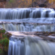 Colorful scenic waterfall in HDR — Stock Photo #7106965