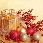 Christmas gift box — Stock Photo #6899157