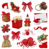 рождественская коллекция — Стоковое фото