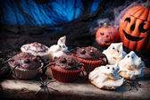 Halloween sweets — Stock Photo