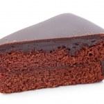 Piece of chocolate cake — Stock Photo #7226413