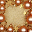 Abstract christmas golden background — Stock Photo #7426944