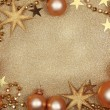 Stock Photo: Abstract christmas golden background