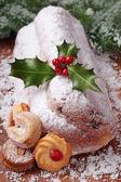Ciasto stollen — Zdjęcie stockowe